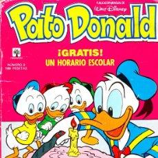 Tebeos: TOMO 2 PATO DONALD ED.PRIMAVERA 1989 EN CASTELLANO 66 PGS.. Lote 31007005