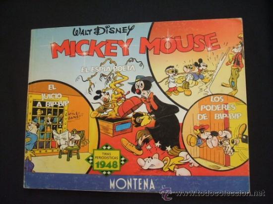 WALT DISNEY - MICKEY MOUSE - TIRAS PERIODISTICAS 1948 - EDIC. LIMITADA Y NUMERADA - MONTENA - (Tebeos y Comics - Montena)