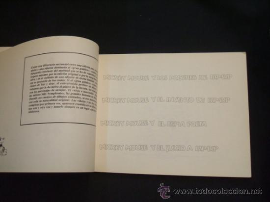 Tebeos: WALT DISNEY - MICKEY MOUSE - TIRAS PERIODISTICAS 1948 - EDIC. LIMITADA Y NUMERADA - MONTENA - - Foto 3 - 31412277