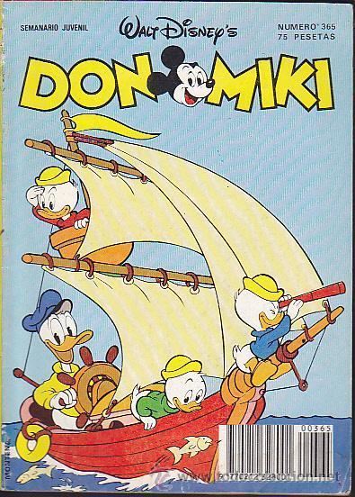DON MIKI Nº 365 (Tebeos y Comics - Montena)