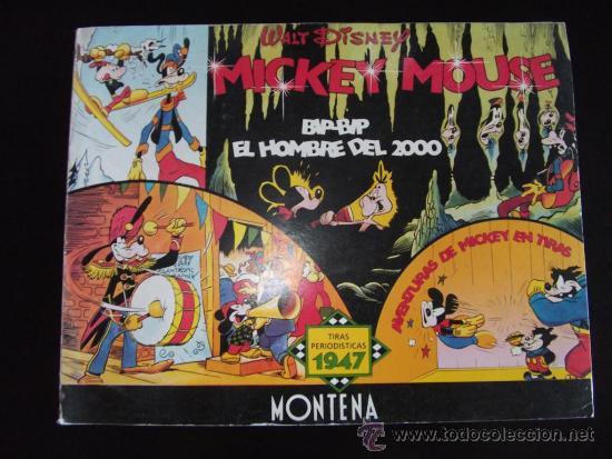 COMIC TIRAS PERIODISTICAS DE MICKEY MOUSE AÑO 1947 EDICION LIMITADA Y NUMERADA (Tebeos y Comics - Montena)