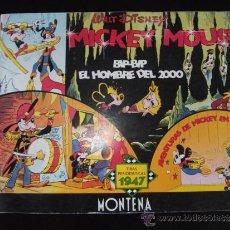 Tebeos: COMIC TIRAS PERIODISTICAS DE MICKEY MOUSE AÑO 1947 EDICION LIMITADA Y NUMERADA. Lote 33387267
