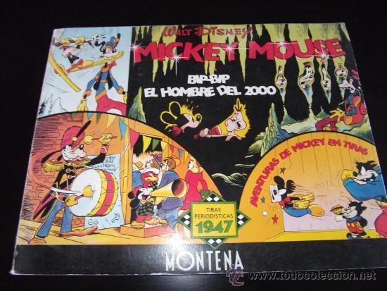 Tebeos: comic tiras periodisticas de mickey mouse año 1947 edicion limitada y numerada - Foto 2 - 33387267