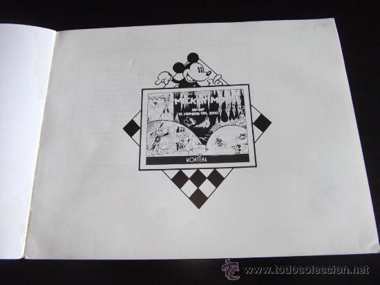 Tebeos: comic tiras periodisticas de mickey mouse año 1947 edicion limitada y numerada - Foto 3 - 33387267
