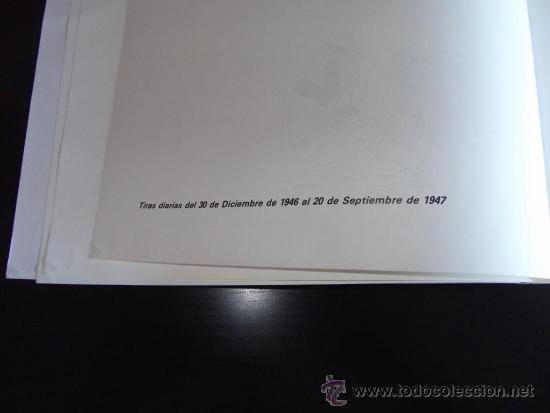Tebeos: comic tiras periodisticas de mickey mouse año 1947 edicion limitada y numerada - Foto 12 - 33387267