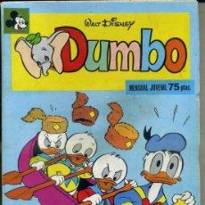 Tebeos: DUMBO Nº 3 - MONTENA, 1978 - 100 PÁGINAS. Lote 33778532
