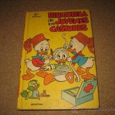 Tebeos: BIBLIOTECA DE LOS JOVENES CASTORES Nº 4 MONTENA 1984. Lote 34017502
