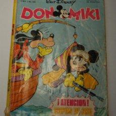 Tebeos: DON MIKI Nº7, 25 NOV-2 DIC 1976. MONTENA. CONTIENE PRIMER CUPÓN DE ORO. . Lote 34983684