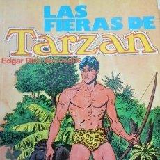 Tebeos: LAS FIERAS DE TARZAN.( EDGAR RICE BURROUGHS) EDITADO POR MONTENA. (DESCUENTO LOTE). Lote 36041469