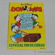Tebeos: (M) DON MIKI CATALOGO ESPECIAL FIN DE CURSO JUNIO 80, . Lote 38149683