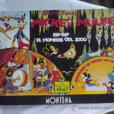 Tebeos: WALT DISNEY - MICKEY MOUSE - TIRAS PERIODISTICAS 1947 - MONTENA -. Lote 38398273