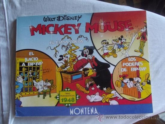 WALT DISNEY - MICKEY MOUSE - TIRAS PERIODISTICAS 1947 - MONTENA - (Tebeos y Comics - Montena)