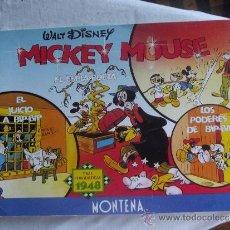 Tebeos: WALT DISNEY - MICKEY MOUSE - TIRAS PERIODISTICAS 1947 - MONTENA -. Lote 38398280