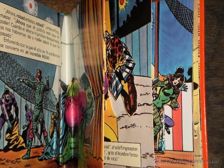 Tebeos: EL INCREIBLE HULK - RINGMASTER y su CIRCO del CRIMEN - Libro Diorama – 1982 Marvel Comics Group - Foto 3 - 40785062