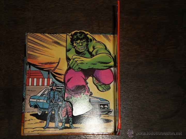 Tebeos: EL INCREIBLE HULK - RINGMASTER y su CIRCO del CRIMEN - Libro Diorama – 1982 Marvel Comics Group - Foto 5 - 40785062