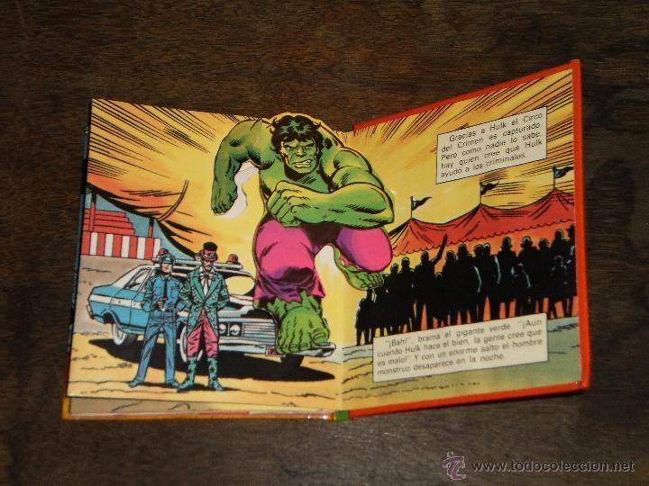 Tebeos: EL INCREIBLE HULK - RINGMASTER y su CIRCO del CRIMEN - Libro Diorama – 1982 Marvel Comics Group - Foto 6 - 40785062