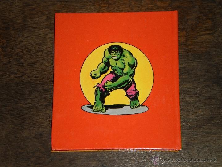 Tebeos: EL INCREIBLE HULK - RINGMASTER y su CIRCO del CRIMEN - Libro Diorama – 1982 Marvel Comics Group - Foto 7 - 40785062