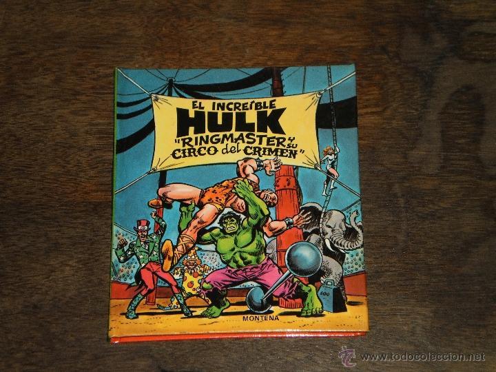 Tebeos: EL INCREIBLE HULK - RINGMASTER y su CIRCO del CRIMEN - Libro Diorama – 1982 Marvel Comics Group - Foto 10 - 40785062