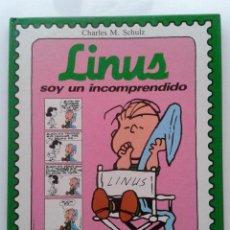 Tebeos: LINUS, SOY UN INCOMPRENDIDO - CHARLES M. SCHULZ - EDITORIAL MONTENA - 1987 SNOOPY PEANUTS. Lote 41073448