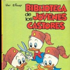 Tebeos: BIBLIOTECA DE LOS JÓVENES CASTORES - WALT DISNEY - Nº 9 - AÑO 1984. Lote 41431926