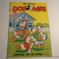 Tebeos: DON MIKI. CATALOGO ESPECIAL FIN DE CURSO. 1982. MONTENA. Lote 43183083