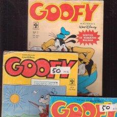 Livros de Banda Desenhada: GOOFY Nº 8 , DISNEY AVENTURAS Nº 14 - LOTE RESERVADO. Lote 46117223