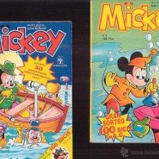 Tebeos: MICKEY Nº 1, 2, 3, 4, 5, 8 - EDITA: PRIMAVERA - WALT DISNEY. Lote 192737753