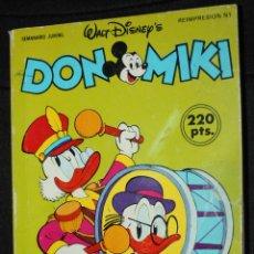 Livros de Banda Desenhada: DON MIKI , Nº421, 422 Y 423 EN UN TOMO. Lote 46424726