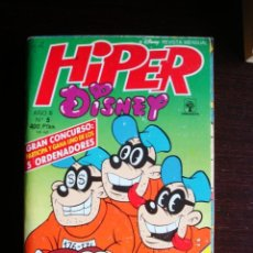 Tebeos: HIPER DISNEY Nº 5 - PRIMAVERA (TIPO DON MIKI Y COMPAÑÍA) 1990 (290 PÁGINAS). Lote 47716550