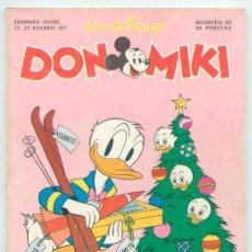 Tebeos: DON MIKI - Nº 63 - MONTENA - 1977 (CON GABY ARAGÓN). Lote 47898787