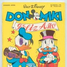 Tebeos: DON MIKI - Nº 116 - MONTENA - 1978. Lote 47901660