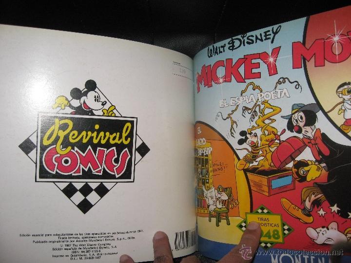 MICKEY MOUSE - ED. MONTENA - TIRAS DIARIAS AÑOS 1947 / 1948 - COMPLETA 2 TOMOS - ENCUADERNADOS (Tebeos y Comics - Montena)