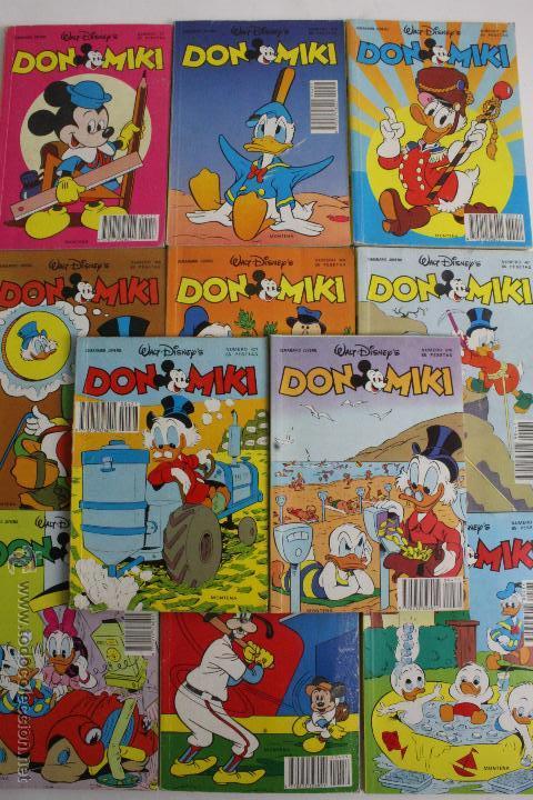 RV-159. DON MIKI. SEMANARIO JUVENIL. LOTE DE 11 REVISTAS. MONTENA 1984. BUEN ESTADO. (Tebeos y Comics - Montena)