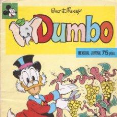 Tebeos: DUMBO Nº 8 -WALT DISNEY - EDT. MONTENA - 1979. Lote 49077679