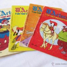 Tebeos: LOTE 4 COMICS D´ARTACAN DARTACAN DE MONTENA - NUMEROS 11 -18 - 19 - 24 . Lote 49448981