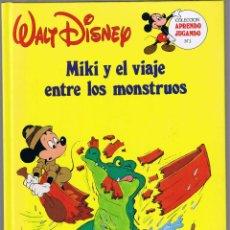 Tebeos: MIKI Y EL VIAJE ENTRE LOS MONSTRUOS - WALT DISNEY. Lote 50118611