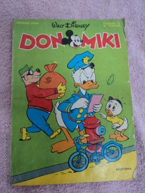 TEBEO ANTIGUO DON MIKI NUMERO 75 COMPLETO CON PUNTOS BUEN ESTADO (Tebeos y Comics - Montena)