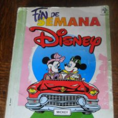 Tebeos: TOMO DE 356 PAGINAS . FIN DE SEMANA DISNEY Nº1 - FESTIVAL PRIMAVERA. Lote 50789890