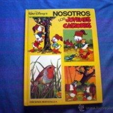Tebeos: COMIC NOSOTROS LOS JOVENES CASTORES Nº 4 1984 WALT DISNEY ED MONTENA TAPA DURA. Lote 50800944