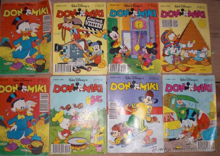 LOTE 8 DON MIKI 1983 (Tebeos y Comics - Montena)