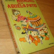 Tebeos: MANUAL DE LA ABUELA PATO - ED. MONTENA. Lote 56808280
