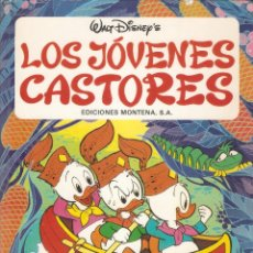 Tebeos: WALT DISNEY'S LOS JOVENES CASTORES - EDICIONES MONTENA , S.A. - 1ª EDICIÓN, 1981.. Lote 52607043