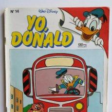Tebeos: YO DONALD - Nº 14 - ED. 1986 - WALT DISNEY. Lote 52653706