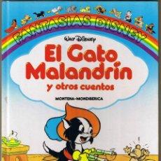 Tebeos: FANTASIAS DISNEY - EL GATO MALANDRIN Y OTROS CUENTOS - 1987. Lote 53409716