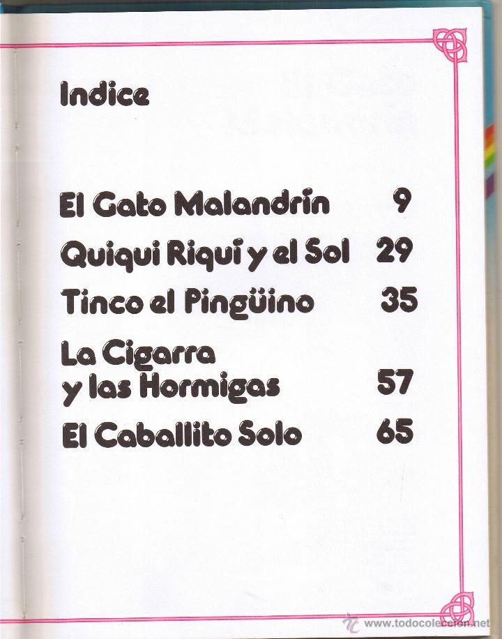 Tebeos: FANTASIAS DISNEY - EL GATO MALANDRIN Y OTROS CUENTOS - 1987 - Foto 2 - 53409716