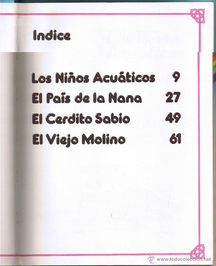 Tebeos: FANTASIAS DISNEY - LOS NIÑOS ACUATICOS Y OTROS CUENTOS - 1987 - Foto 2 - 53409752