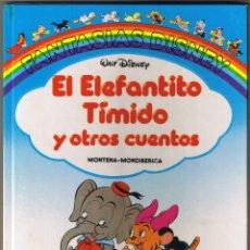 Tebeos: FANTASIAS DISNEY - EL ELEFANTITO TIMIDO Y OTROS CUENTOS - 1986. Lote 53409770