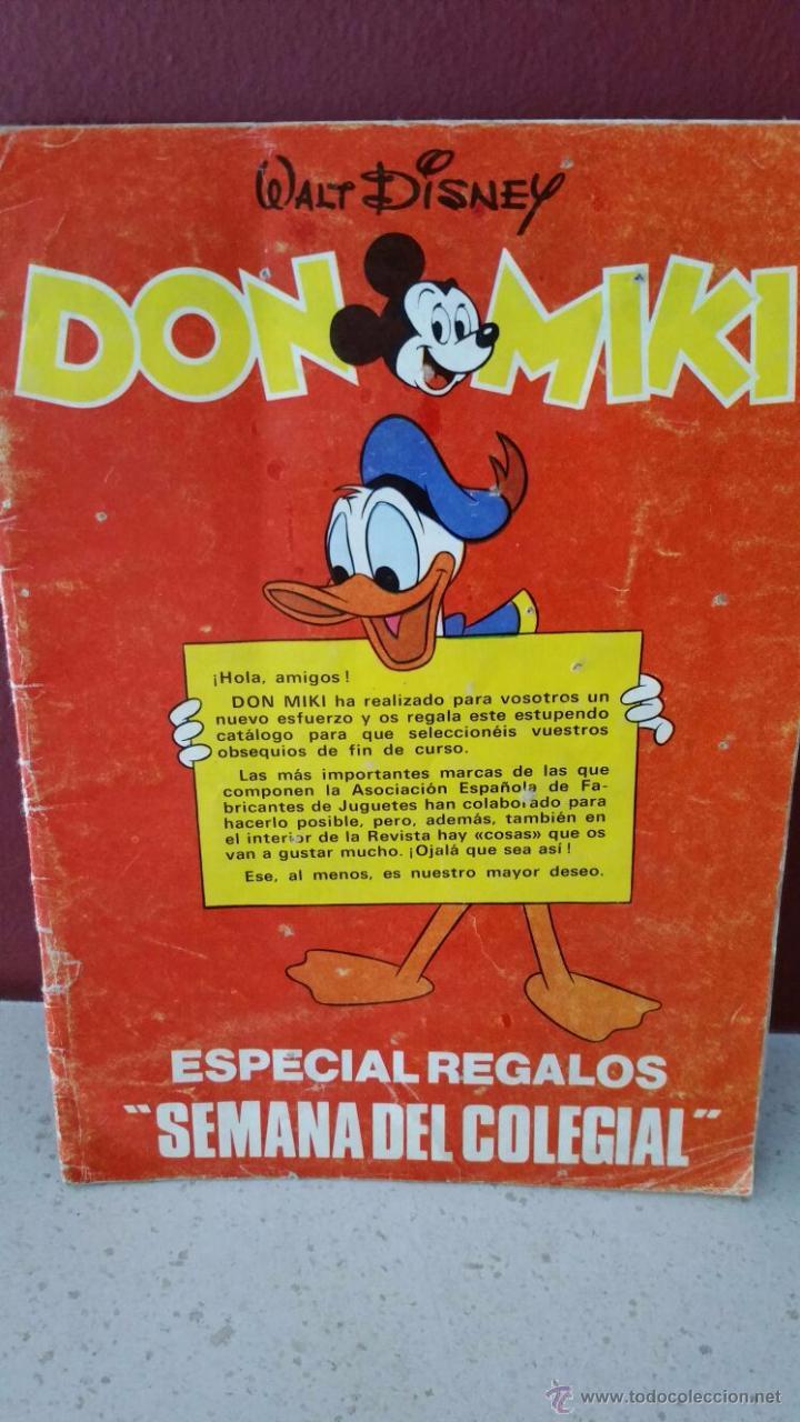 DON MIKI - ESPECIAL REGALOS SEMANA DEL COLEGIAL - 1978 (Tebeos y Comics - Montena)