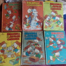 Tebeos: COMICS BIBLIOTECA DE LOS JÓVENES CASTORES (WALT DISNEY) AÑOS 80 TOMOS 1, 4, 5, 6, 8, 9. Lote 55005870