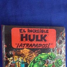 Giornalini: EL INCREIBLE HULK: ATRAPADOS - MINI LIBRO POP UP / FIGURAS DESPEGABLES - MONTENA 1982. Lote 58436598
